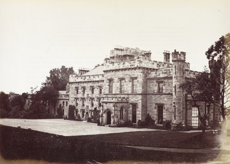 View of Wishaw House.