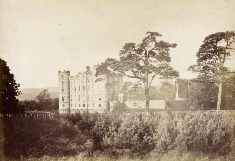 View of Douglas Castle.