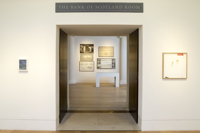 General view looking through to The Bank of Scotland Room at Royal Scottish Academy, The Mound, Edinburgh