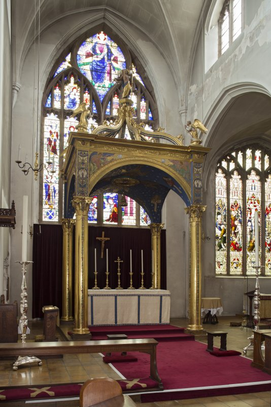 Chancel from north west.