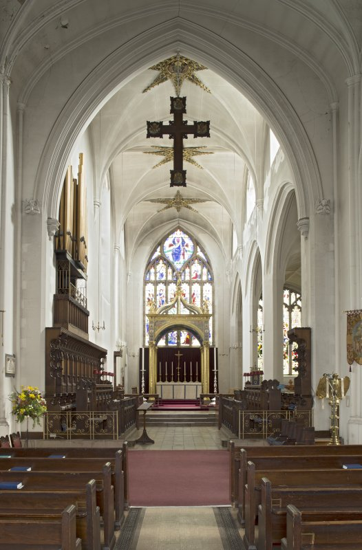 Chancel from west.