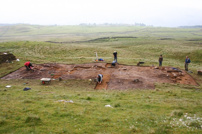 Excavations of turf buildings at Kiltyrie by GUARD
