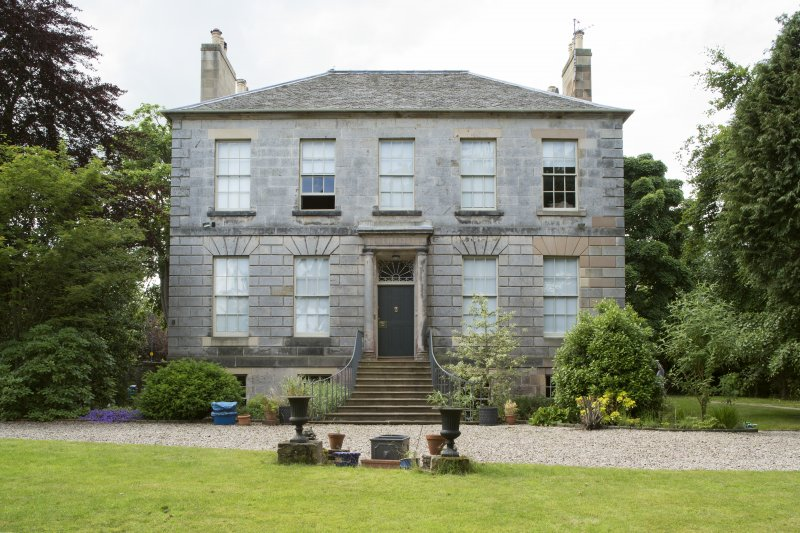 Eskbank House. View from North East.