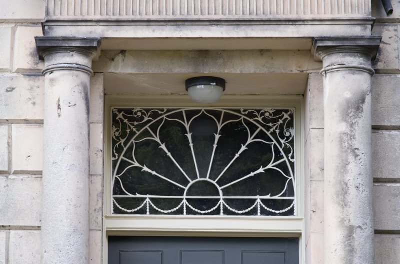 Eskbank House. Detail of fanlight.