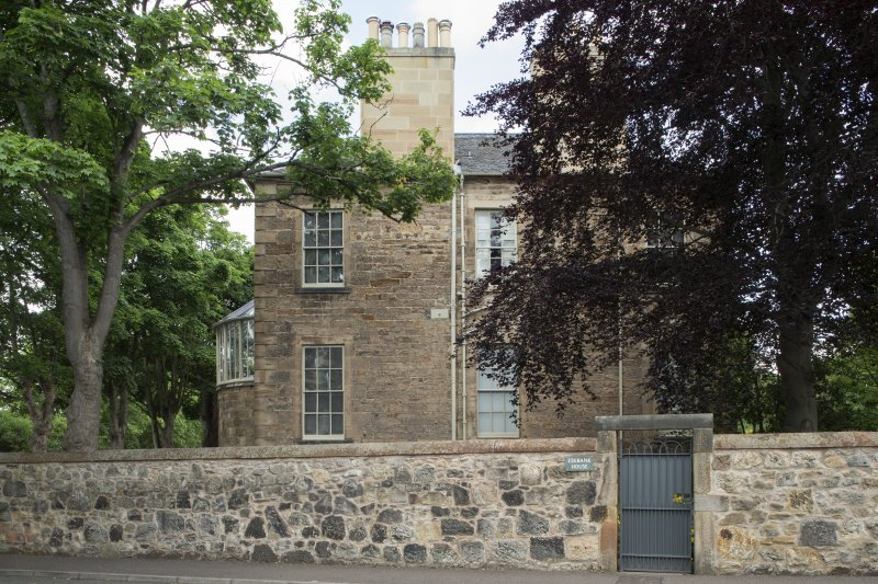 Eskbank House. General view from South East.