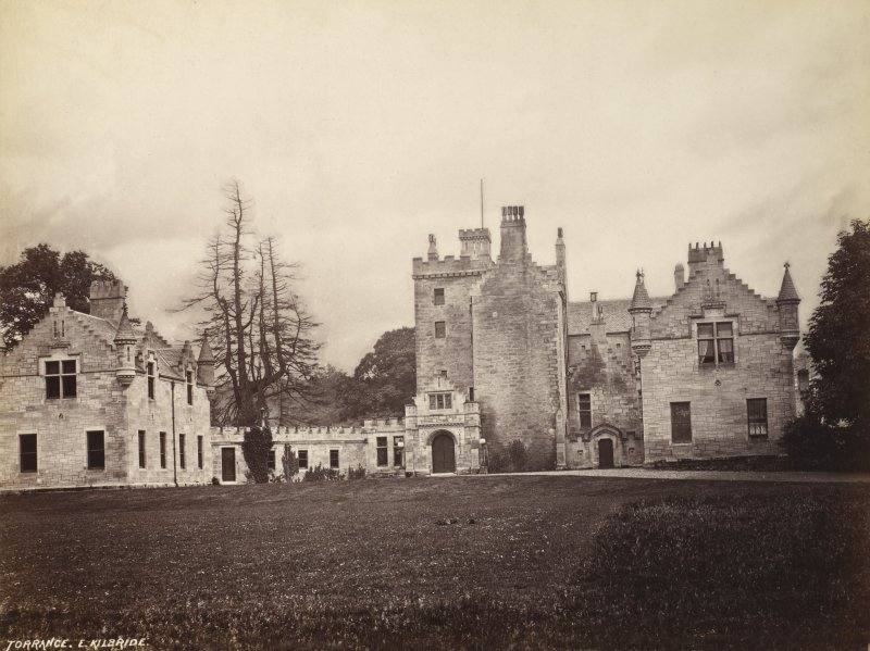 View of Torrance House from north