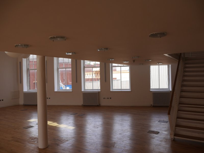 Converted office space on first floor.