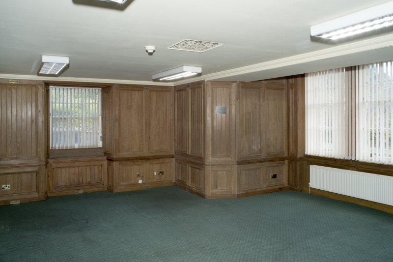 Interior. Ground floor, General view of The Carnegie Room.