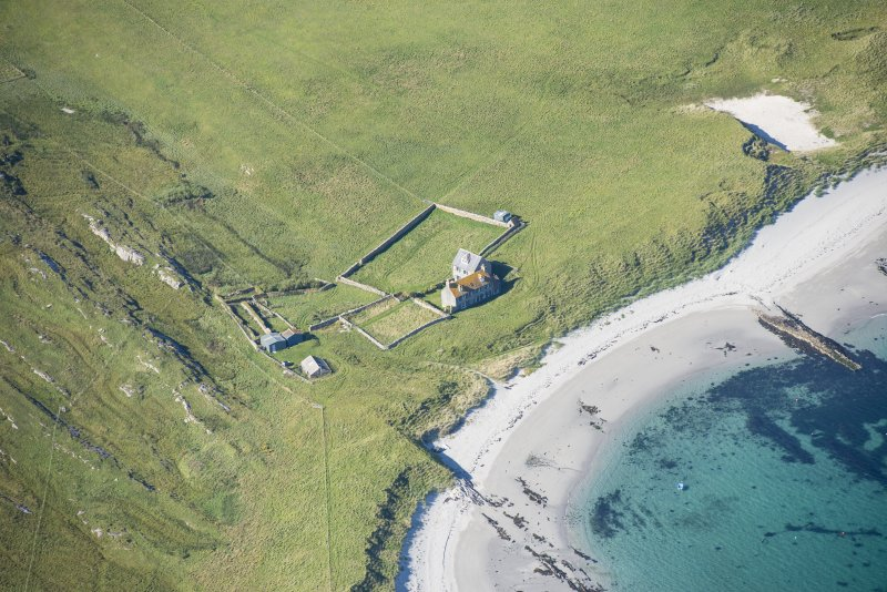 Oblique aerial view of Killegray House, looking NNW.