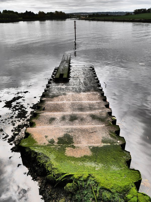 Detail view of slipway, taken from the north.
