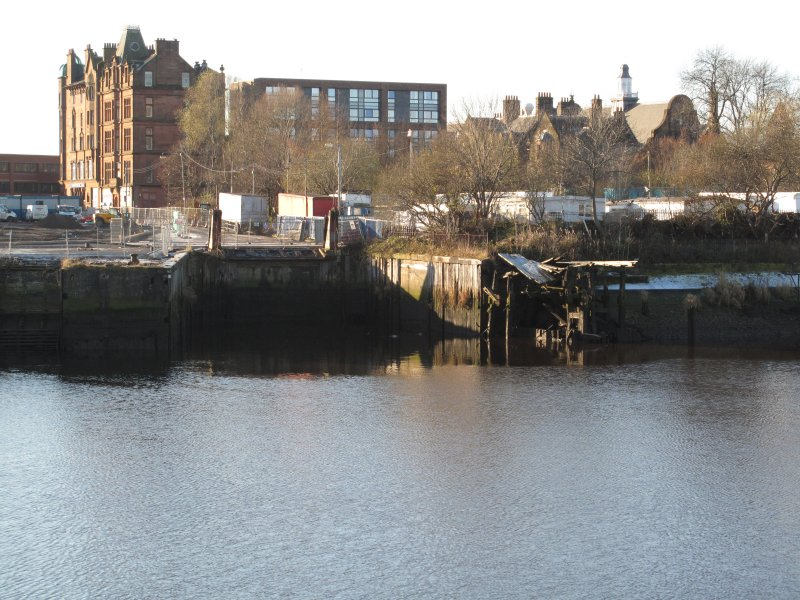Govan ferry terminal, taken from the north.