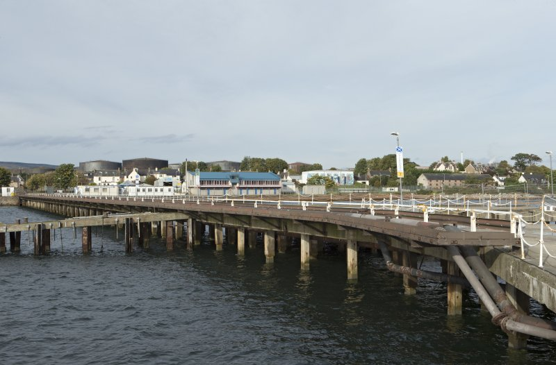 View of pier from south west