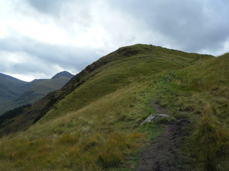 Steep crags on the east side of Dun Deardail, from a topographic archaeological survey at five Pictish Forts in the Highlands