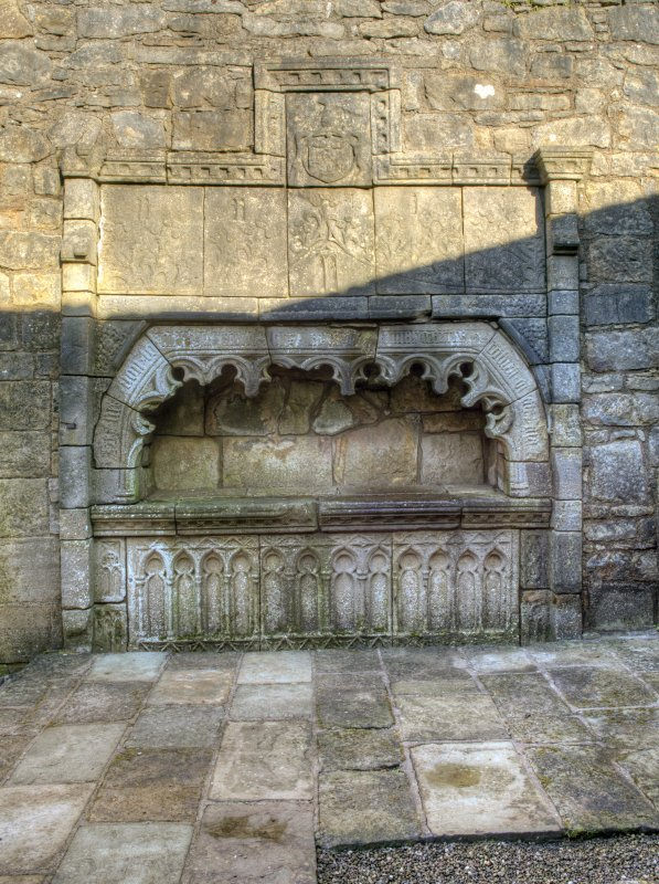 View of tomb of Lord Semple.