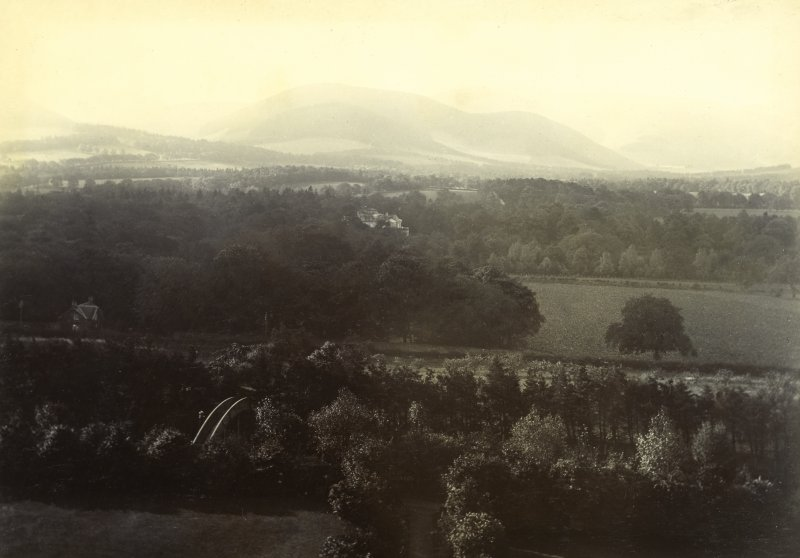General view, possibly from Peebles Hydro