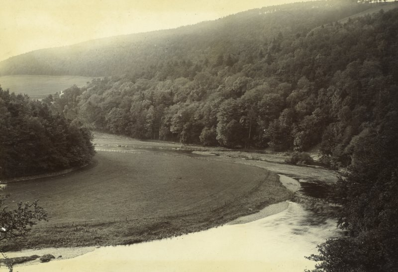 View of River Tweed, possibly near Neidpath Castle