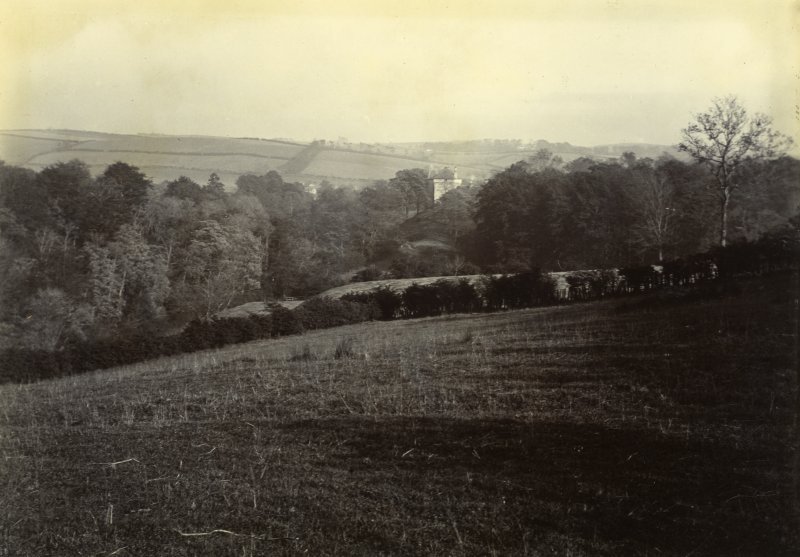 Distant view of the Peel, Busby