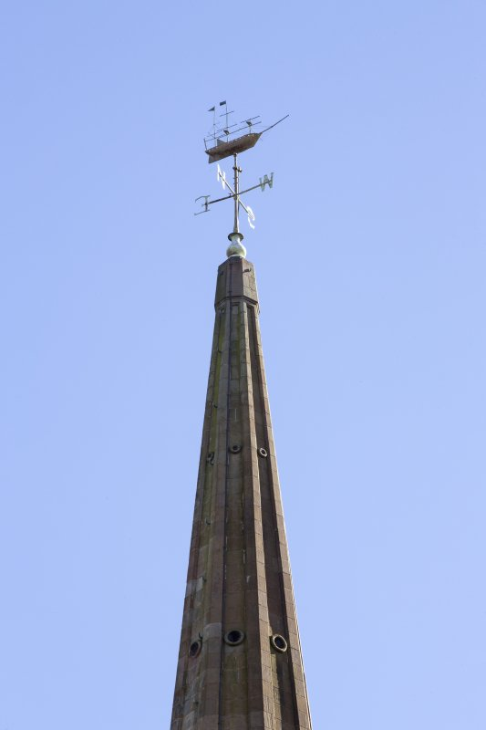 Detail of weathervane.
