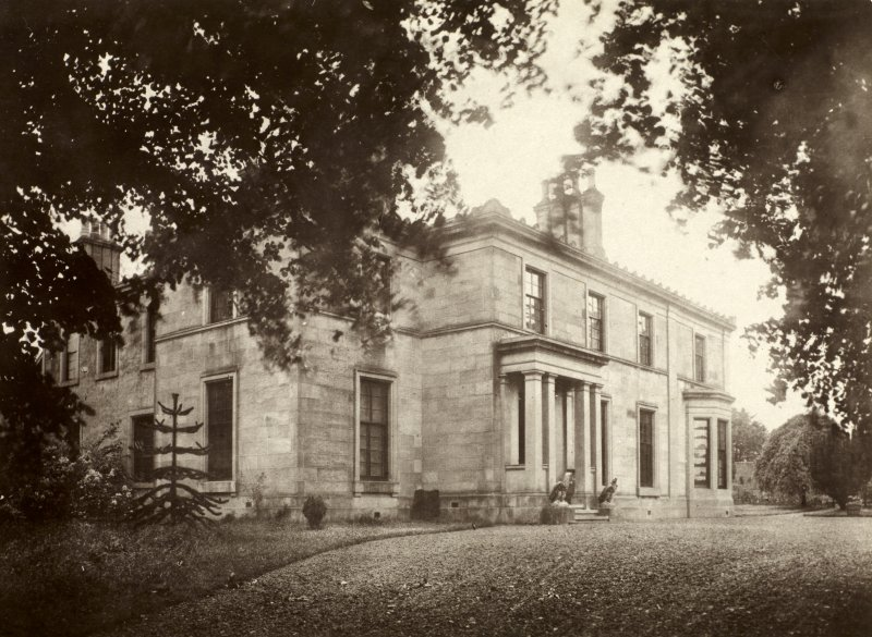 Photograph No.36 taken from driveway, showing front of building