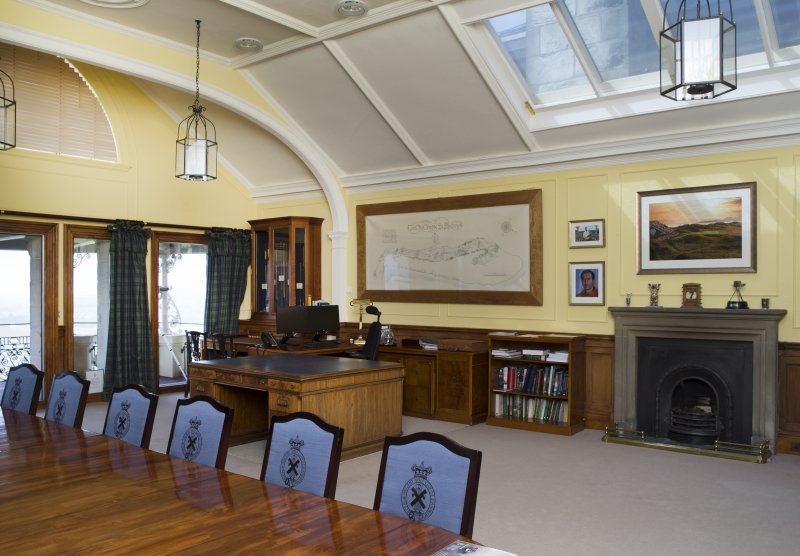 1st floor. General view of The Secretary's Room.