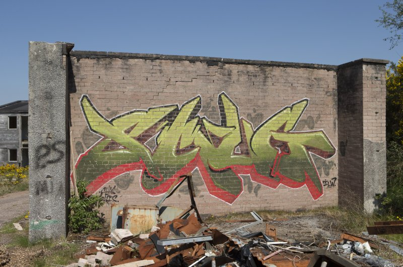 Graffiti art by Smug, taken from the south.