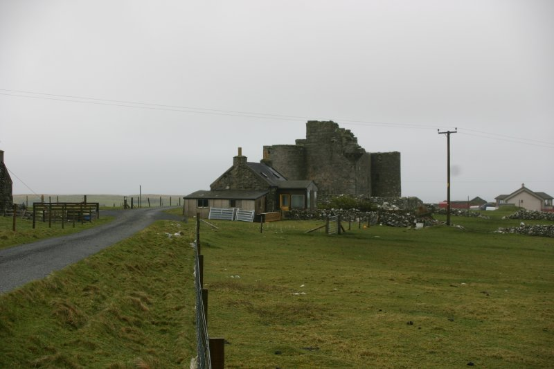 The castle from the NW