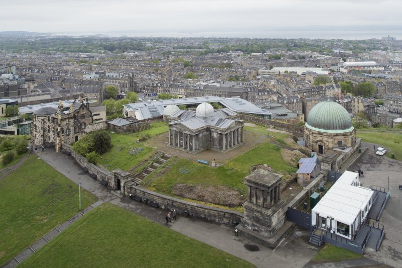 General view from south east. (taken from The Nelson Monument)