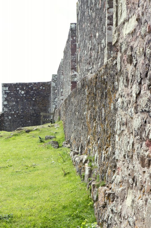 View looking along north wall.