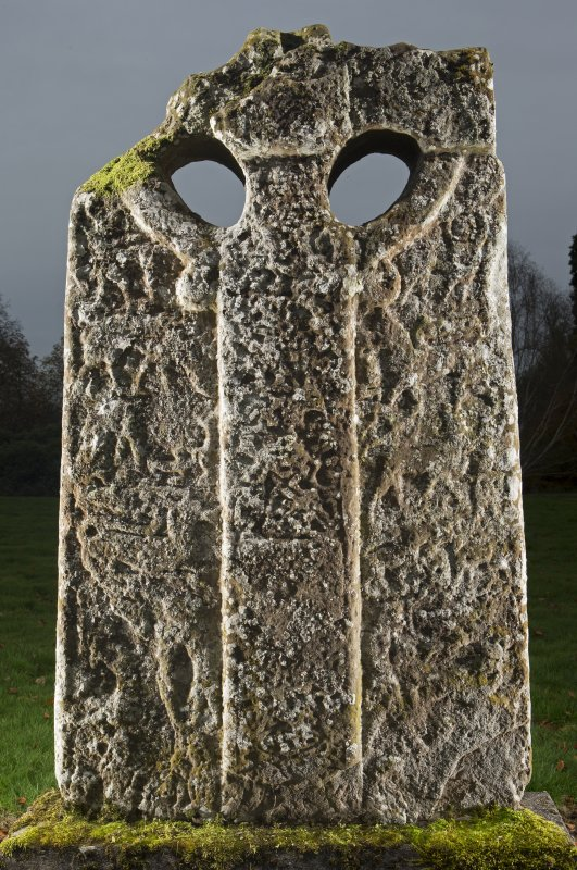 Boar Stone of Gask Pictish cross slab, face b