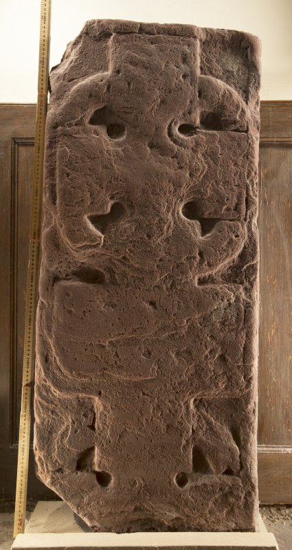 Dunning recumbent cross slab face a (including scale)