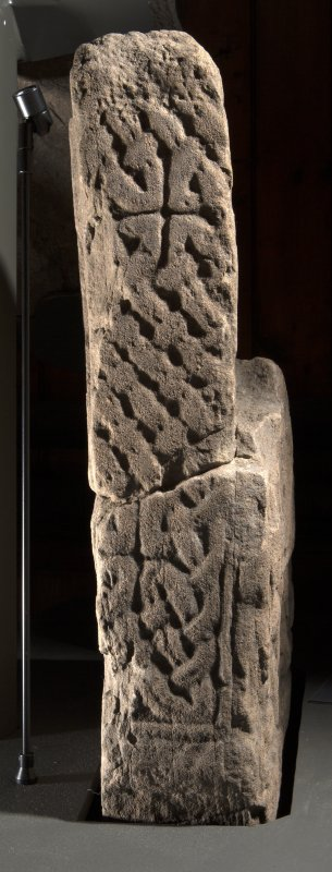 Invermay 1 &  3 Pictish cross fragments face d