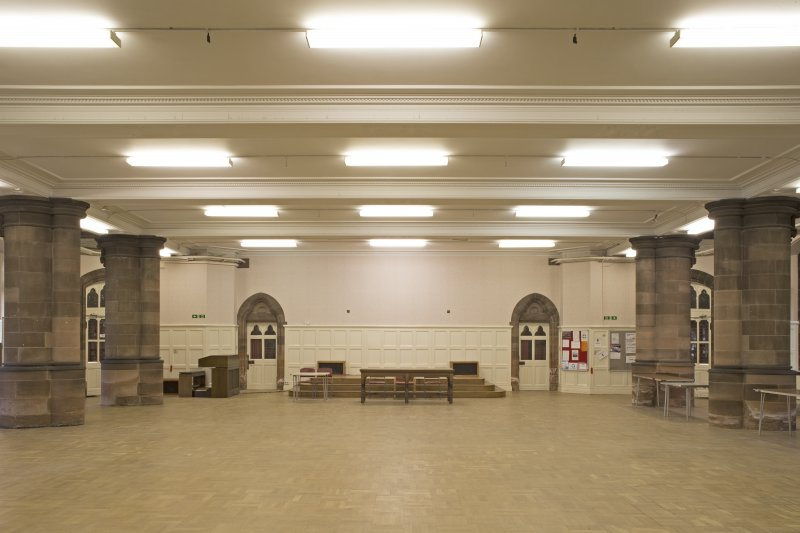 Undercroft. Main hall from south.