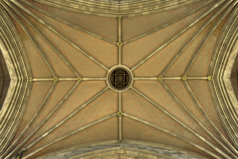 Transept crossing, ceiling.