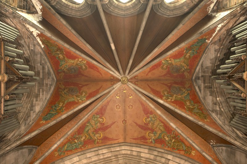 Chancel. Ceiling.