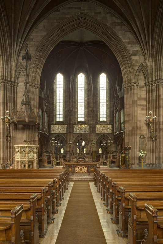 Nave and chancel from south.