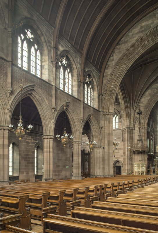 Nave from south east.