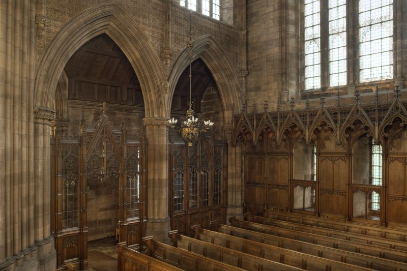 West transept from north east.