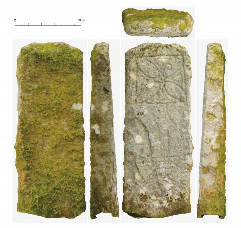 Raasay Pictish Stone: Textured photogrammetric mesh