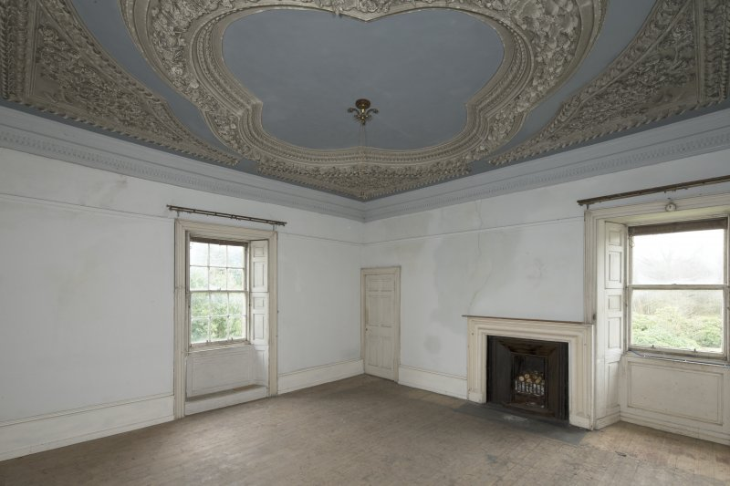 1st floor, south east bedroom, view from north west