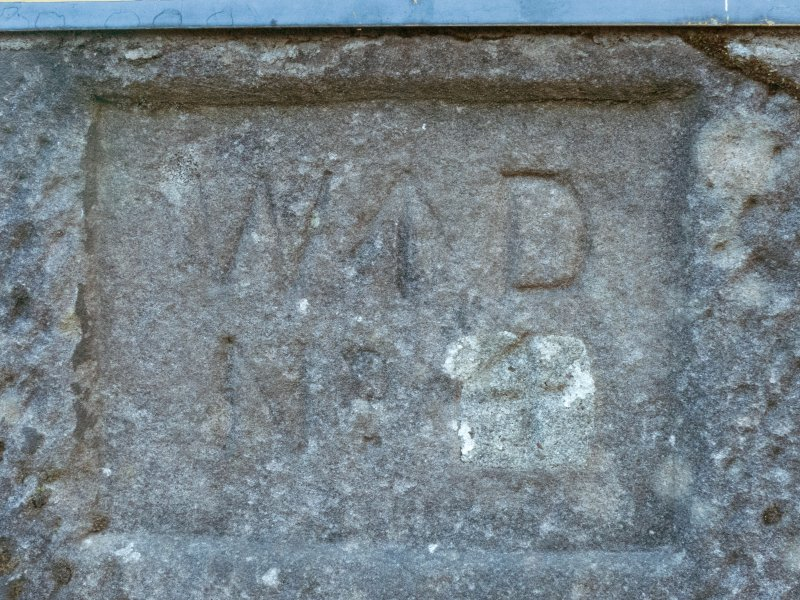 Detail of boundary stone No.4