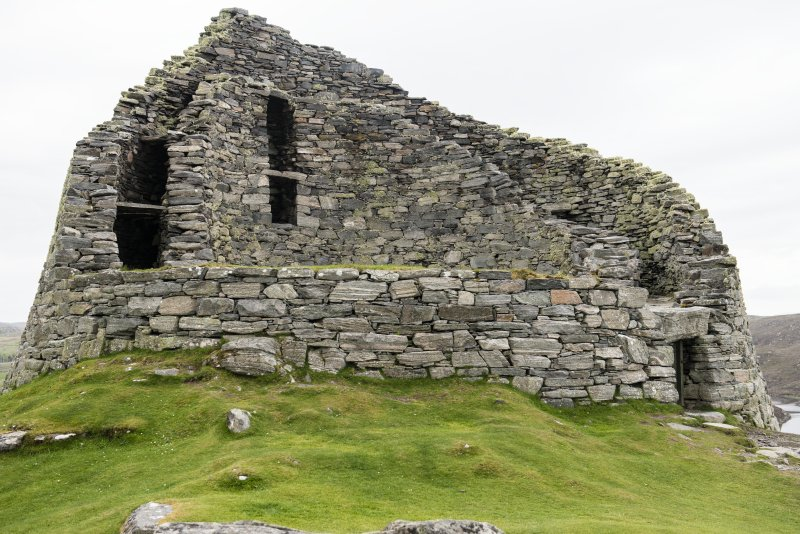 View of the broch.