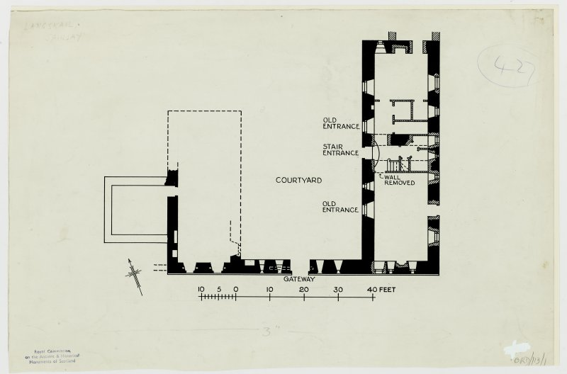 Publication drawing; plan