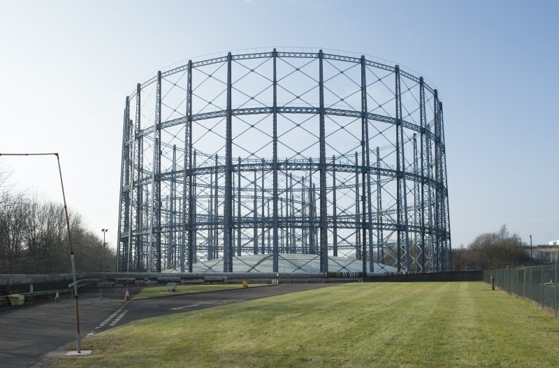 Gasholder no.2, view from north east