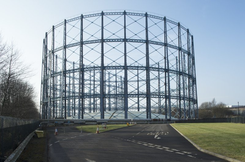 Gasholder no.2, view from east