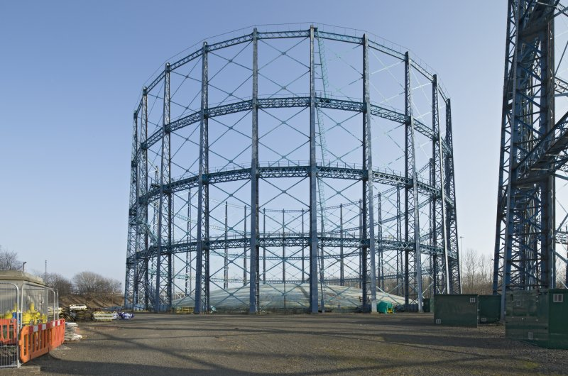 Gasholder no.2, view from west