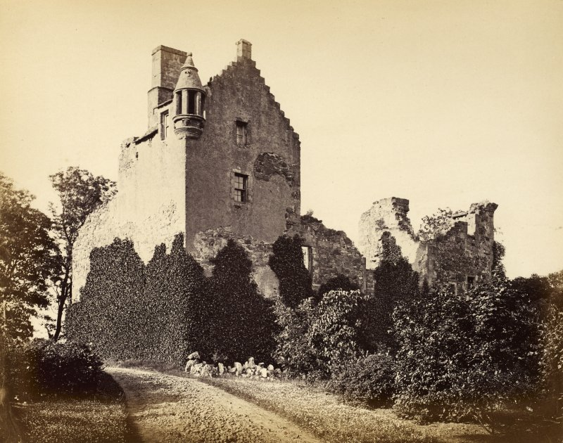 Pitcullo Castle, Fife - from south-east