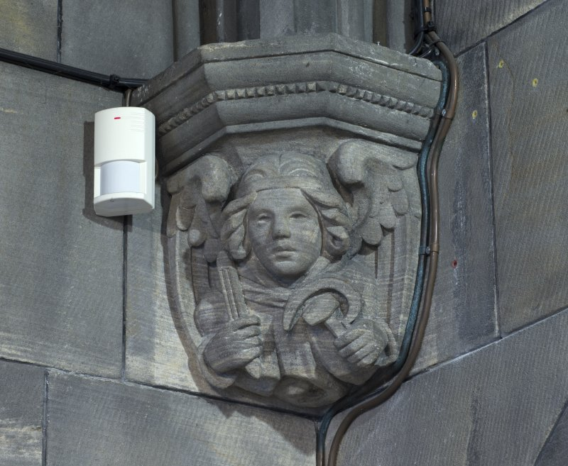 Sacristy, detail of corbel