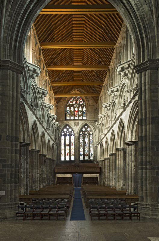 Nave, view from east