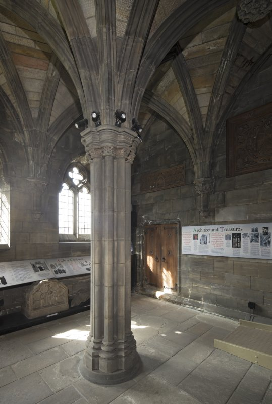 Sacristy, view from north east
