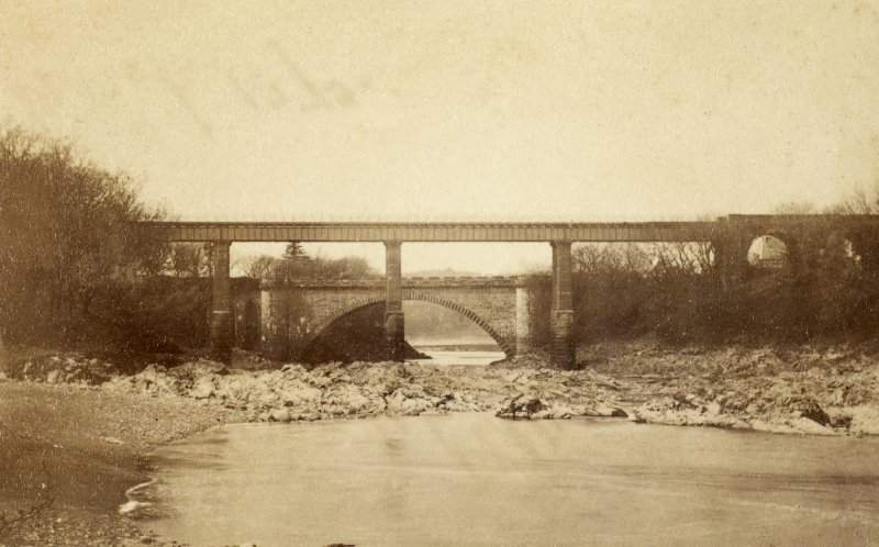 General view of Tongland Bridge. PHOTOGRAPH ALBUM No 25: MR DOG ALBUM